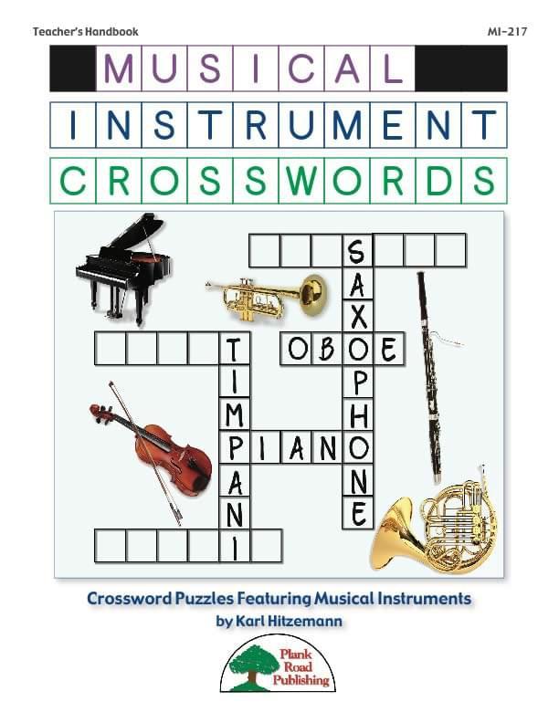 Product Detail Musical Instrument Crosswords Volume