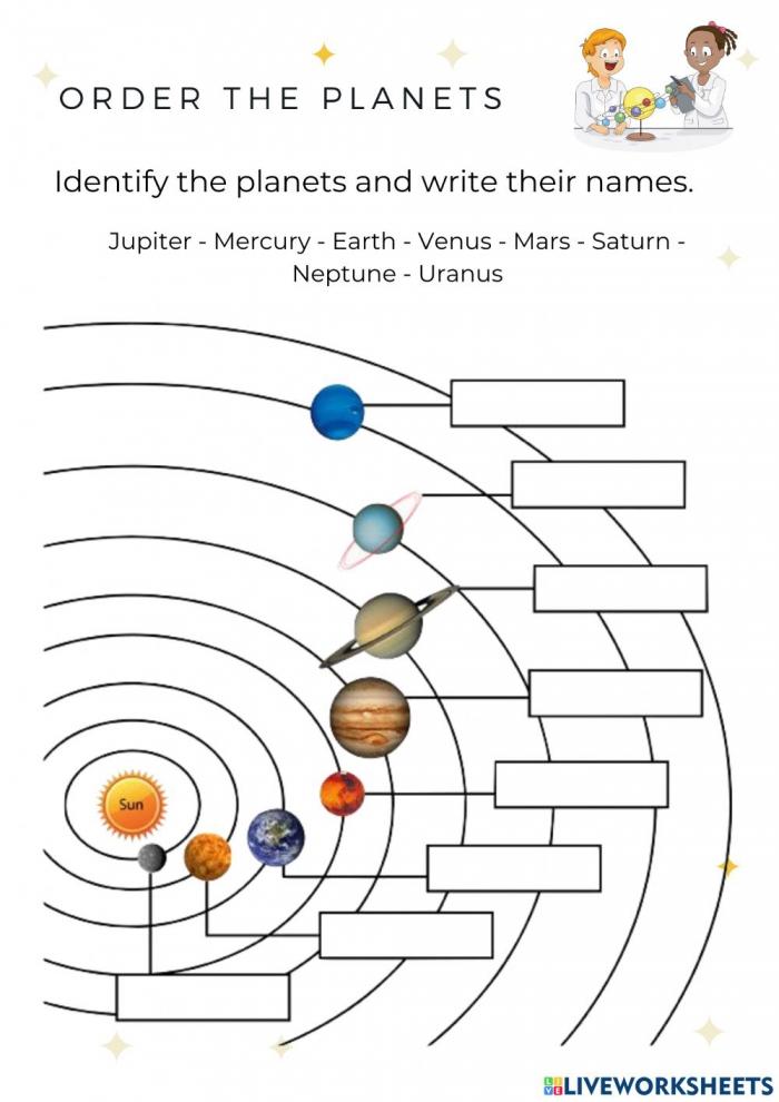 Solar System Online Pdf Activity For