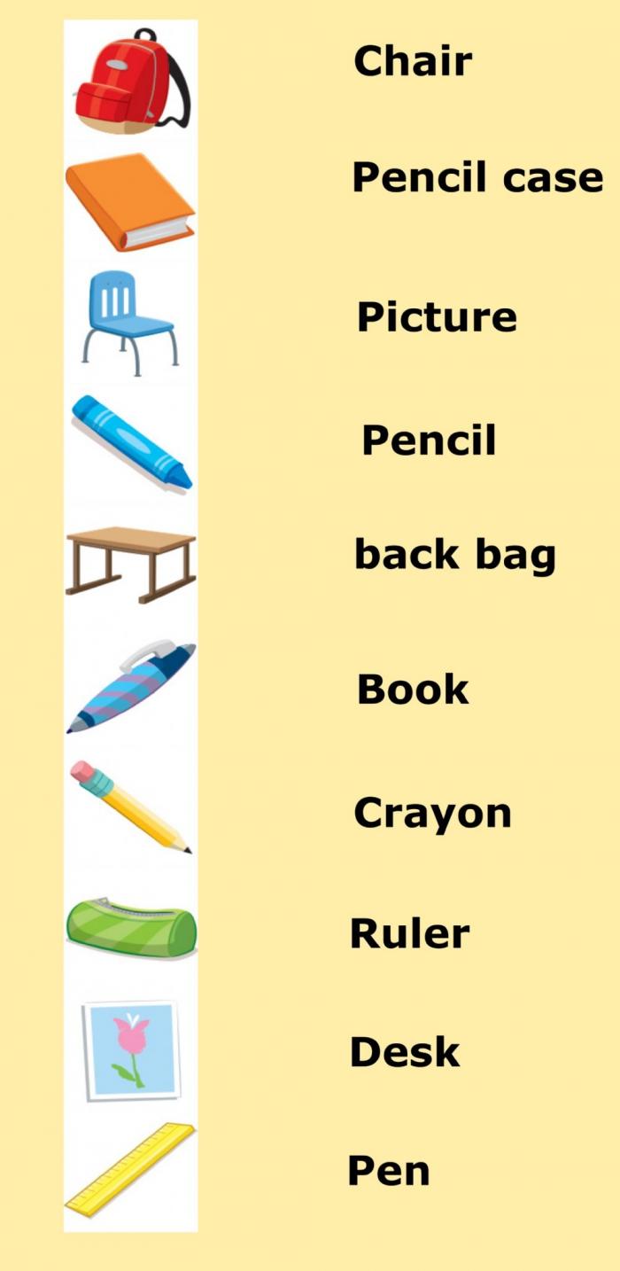 St Grade Vocabulary