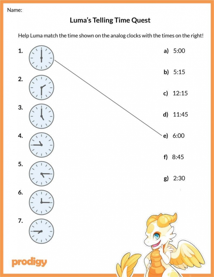 Telling Time Worksheets Effective Practice Materials