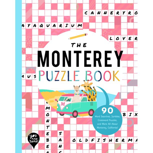 The Monterey Puzzle Book Word Searches Jumbles Crossword