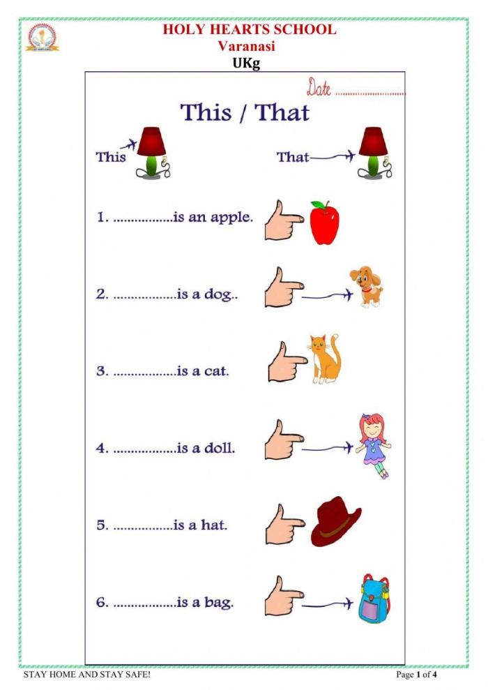Ukg This That Worksheet
