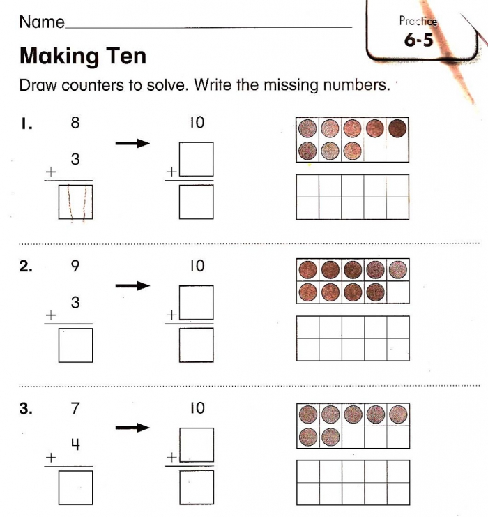 Worksheets For Years Old Kids