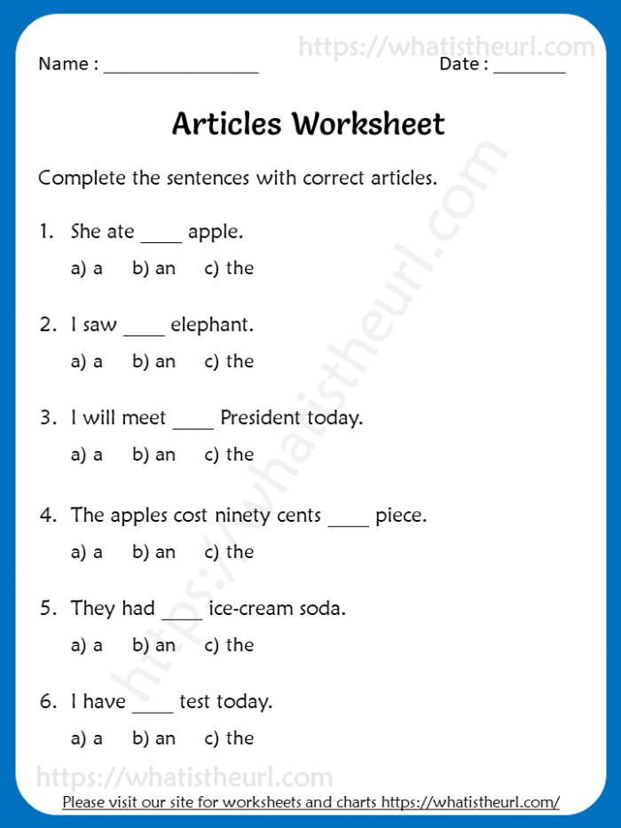 Articles Worksheets For Rd Grade A Anthe