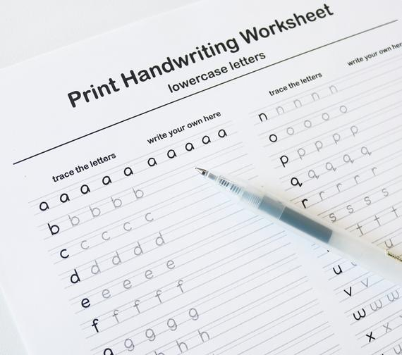 Calligraphy Writing Worksheets
