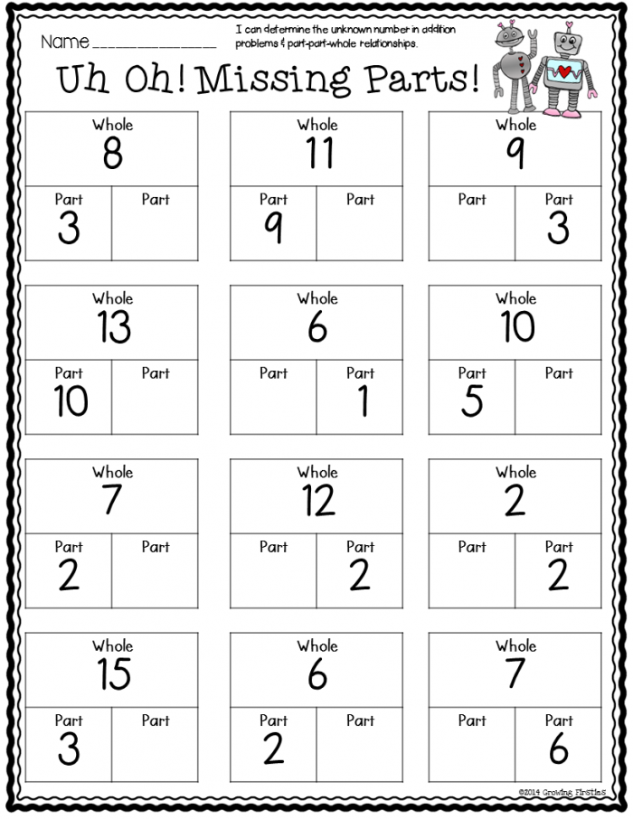 February Math Ela Printables