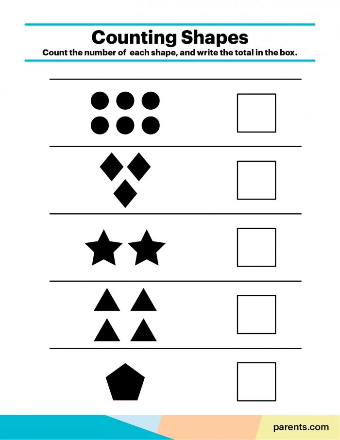 Kindergarten Math Worksheets To Print At Home