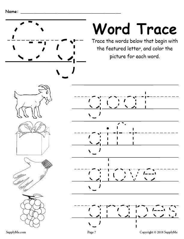 Letter G Words