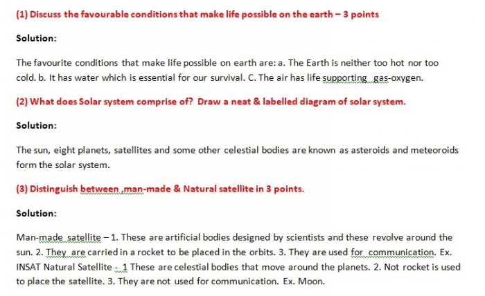 Ncert Class Geography Chapter The Earth In The Solar System