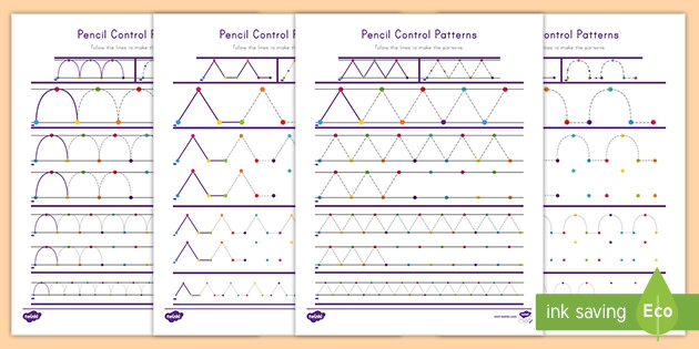 Pencil Control Pre