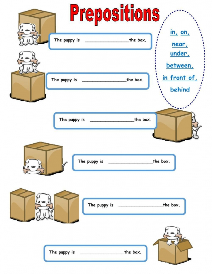 Prepositions Of Place Interactive And Downloadable Worksheet You