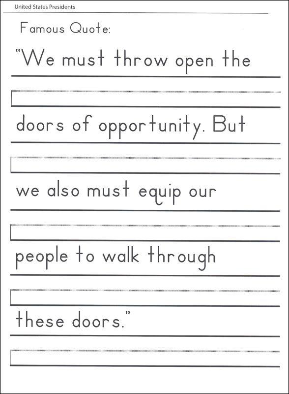 Printing Handwriting Worksheets Free