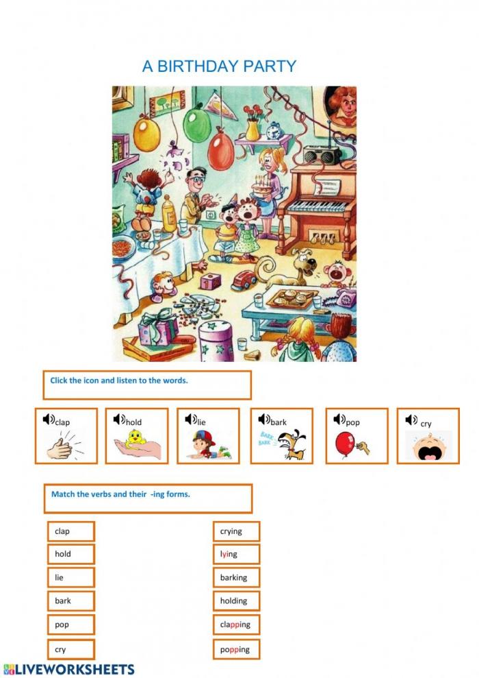 Rd Grade English Worksheet