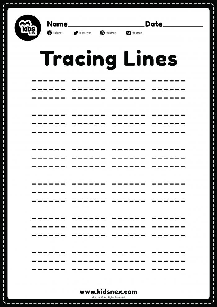 Sleeping Line Worksheet