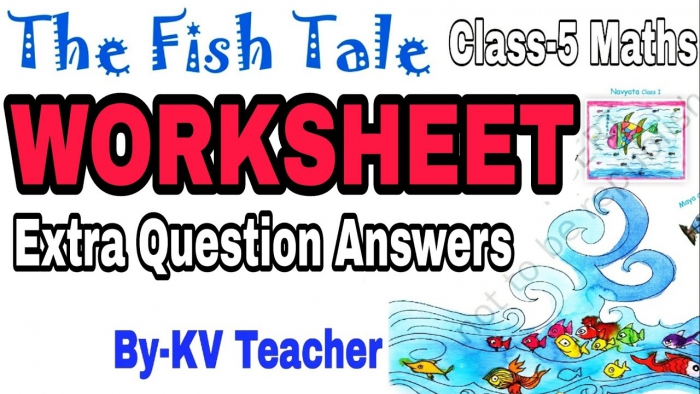 Worksheet The Fish Tale Class