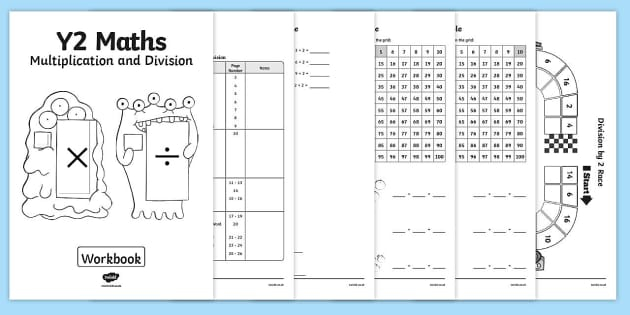Year Multiplication And Division Workbook