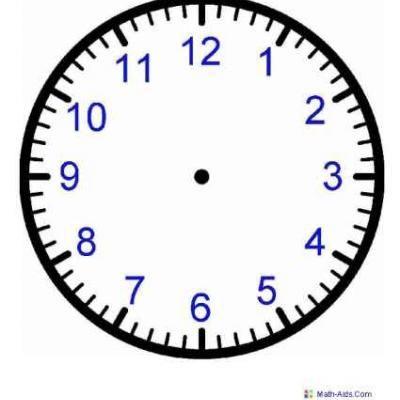Printable Clock Worksheets